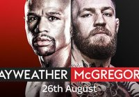 Floyd Mayweather vs Conor McGregor – How to watch live streaming & get 20/1 on Mayweather (currently 1/3)