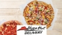 50% OF PIZZA HUT DELIVERY