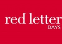 15% Discount at Red Letter Days